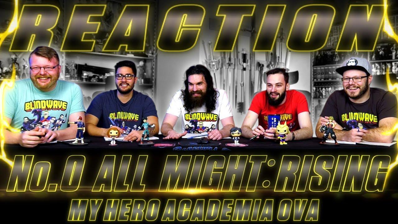 My Hero Academia Ova All Might Rising Reaction Youtube
