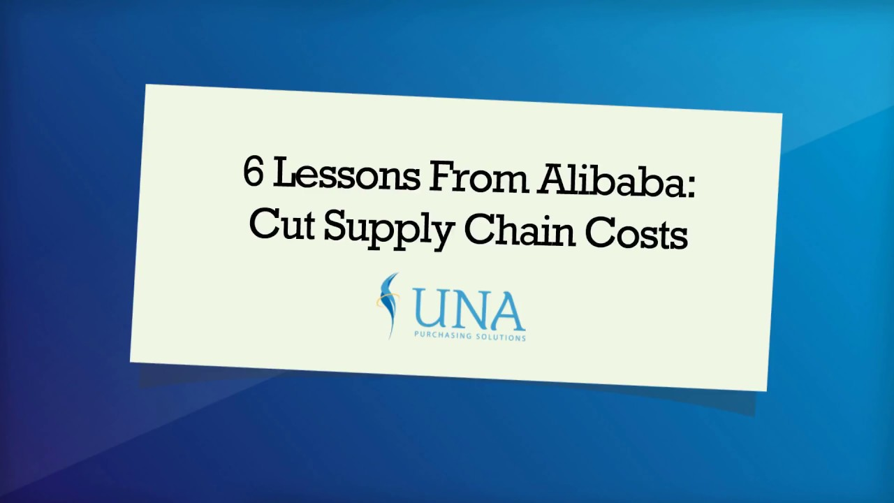 6 Lessons From Alibaba
