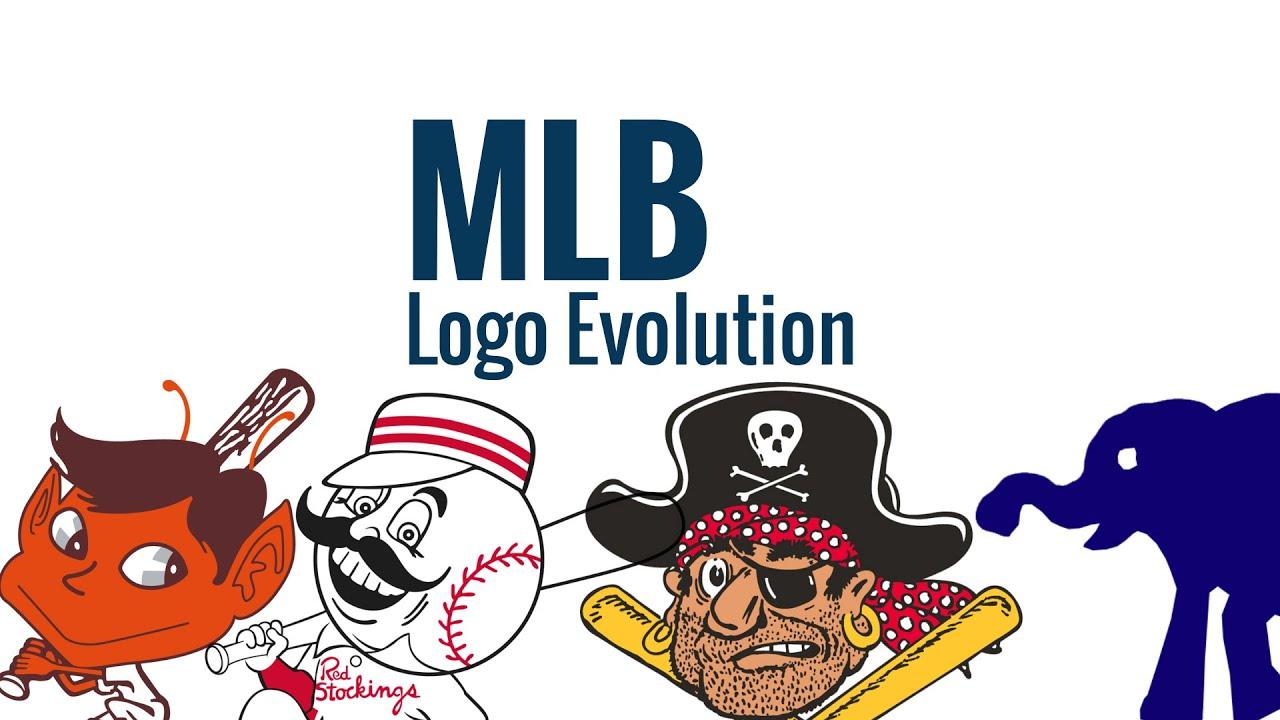 MLB Logos Through The Years - YouTube