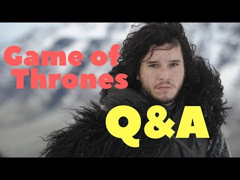 Game of Thrones Q & A - livestream with Lucifer means Lightbringer
