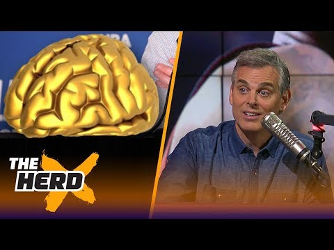 Colin Cowherd's 'use your brain awards' | NBA | THE HERD