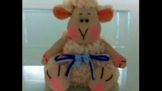 Como Fazer Boneca de Pano: Ovelhinha cheirosa Parte 2 por Bebê Mimado