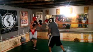Rick vs Cole Boxing at Frank Rodriguez Boxing Club 2 of 2