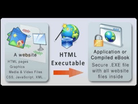 How To (Convert) Compile HTML To Exe