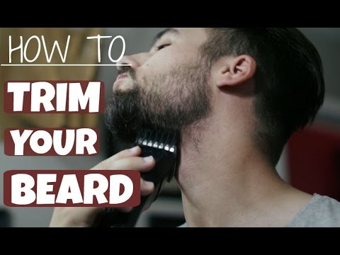 how to trim and shape your beard thegentlemanscove youtube. Black Bedroom Furniture Sets. Home Design Ideas