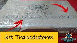 Kit Transdutores para Osciloscópio