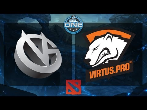 Dota 2 - VG vs. Virtus.Pro - ESL One Frankfurt 2015 - Seeding Match