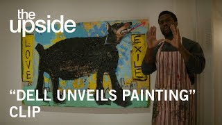 "The Upside | ""Dell Unveils Painting"" Clip 