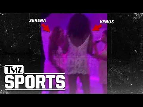Serena Williams Wedding Video, Venus Shakes to 'Back That Ass Up' | TMZ Sports