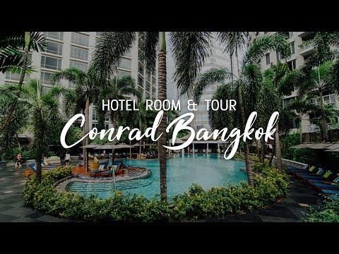 CONRAD BANGKOK   Executive Double Room & Hotel Tour