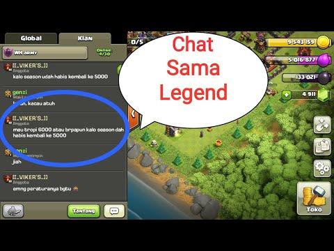 Awalnya chat biasa sama Legend, Ternyata inilah katanya - Clash Of Clans Indonesia