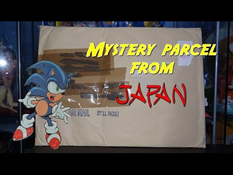 Mystery parcel from Japan. Unboxing video