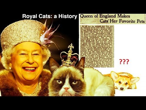 Royal Cats: a History of Cats at Court
