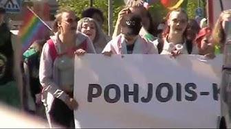 Joensuu Passenger Port Market and the North Karelia Pride on May 19th, 2018
