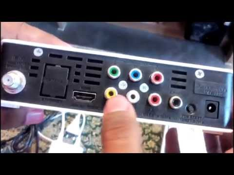 Videocon D2H HD Set Top Box Review & Installation.