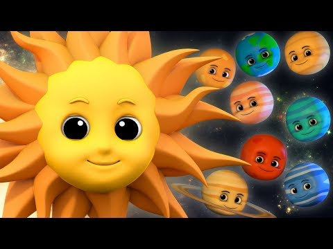 Planets Song | Nursery Rhymes | Songs For Children | Video For Kids And Babies