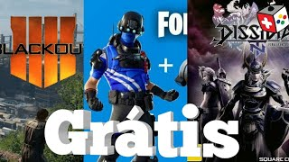 Free COD Black out, free Skin fortnite, Final Fantasy free