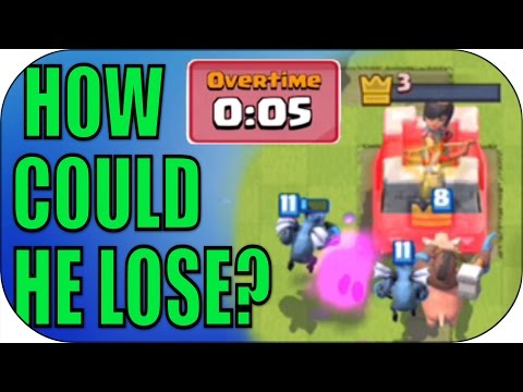 BIGGEST FAIL IN CLASH HISTORY! INSANE REPLAY! - Let's Play Clash Royale - Gameplay #3