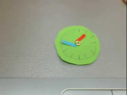 Clock - Student Stop Motion project by Qing Yuan