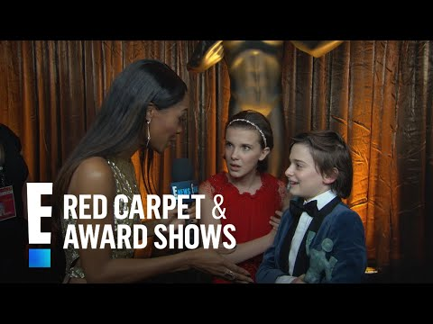 """Stranger Things"" Young Stars Couldn't Hold Back Tears 