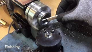 Build mini radius cutter for sherline lathe part 1