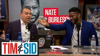 Nate Burleson On Slowing Down Patrick Mahomes And The Kansas City Chiefs   Tim & Sid