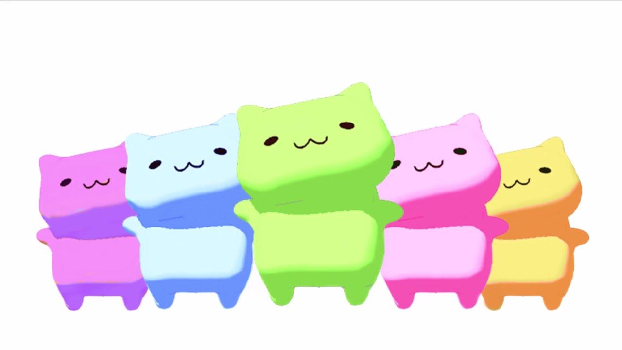 みっちりねこダンス - MitchiriNeko Dance - Cute cat characters in a dancing team!