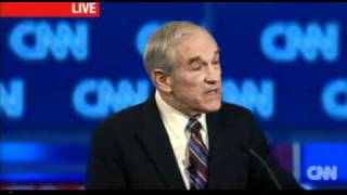 Ron Paul - Government Run Healthcare - South Carolina Debate 1-19-2012