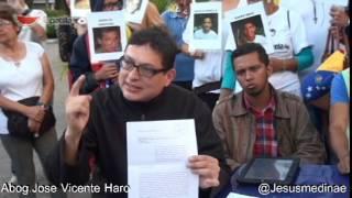 Declaraciones del abog. Jose Vicente Haro