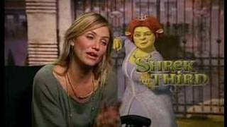 Shrek The Third Cast Meets Grace the Six Year Old!