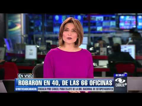 Emisión Noticias Caracol 7 p.m. Enero 21 de 2013