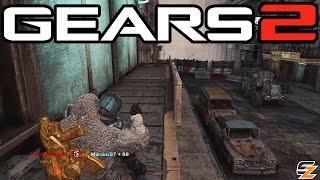 Gears of War 2 Xbox One - Around the World Day One! (Multiplayer Gameplay)