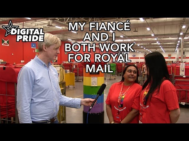 My fiancé and I work together at Royal Mail