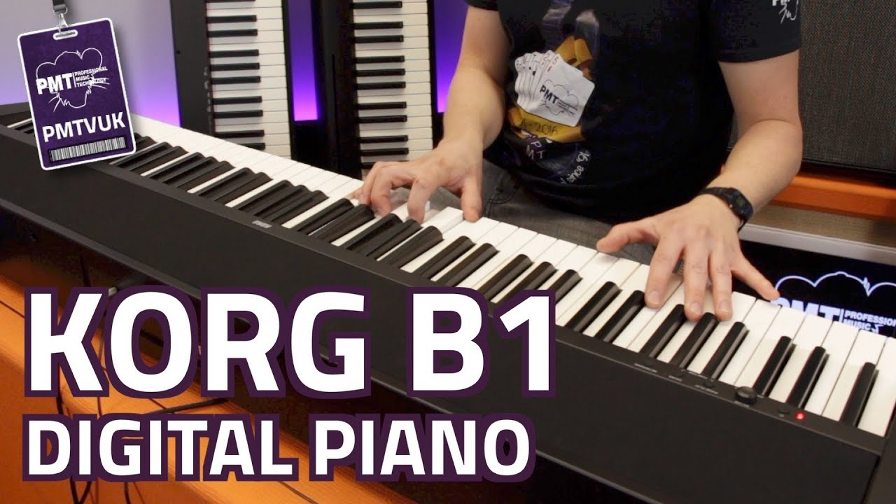 Korg B1 Digital Piano Review Demo Youtube