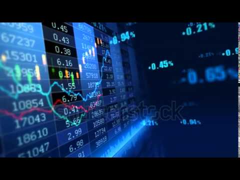 stock footage stock market trend of animation