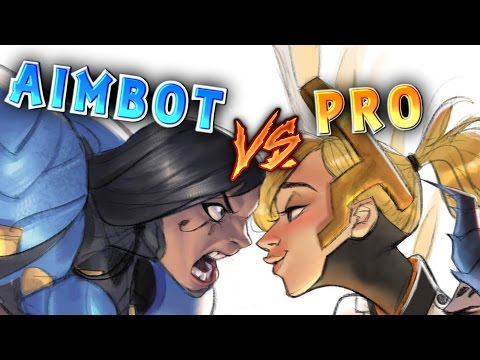 Streamers VS Aim Botters MONTAGE Ep.7 | Overwatch