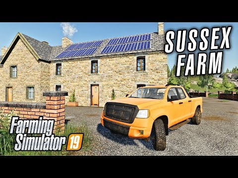 Let's Start on Sussex Farms! Farming Simulator 19