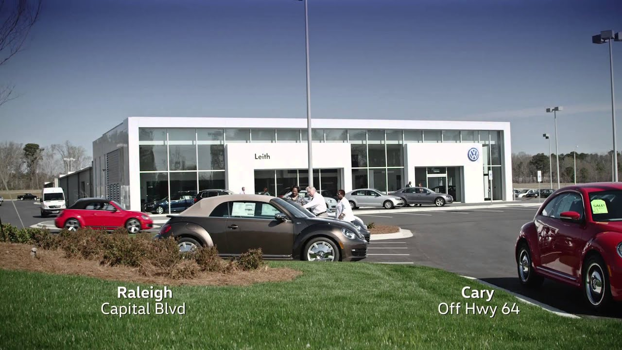 leith volkswagen  raleighs   wall sales event youtube