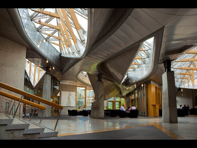 Immersive Tour: The Garden Lobby of the Scottish Parliament (BSL)