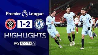 Jorginho nets winner as Blues close in on top 4! | Sheff Utd 1-2 Chelsea | Premier League Highlights
