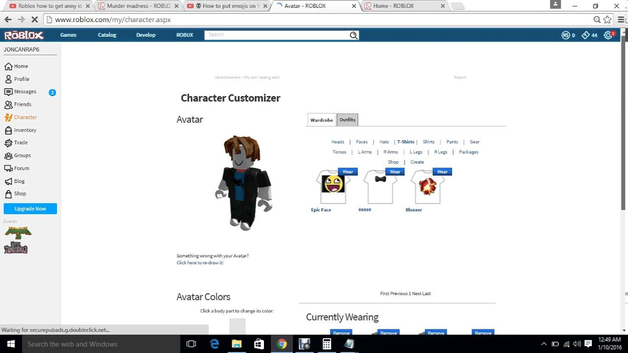 Roblox 2016 redeem code WORKS! - YouTube