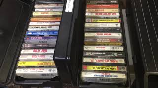 DO CASSETTES, 8-TRACKS AND DVD'S SELL ON EBAY? OR ARE WE BETTER OFF DROPPING THEM OFF AT GOODWILL?