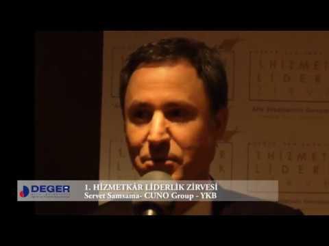 Servet Samsama - 1. Hizmetkâr Liderlik Zirvesi Röportajı