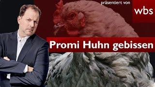 Justiz extrem: Promi-Huhn Sieglinde totgebissen | Rechtsanwalt Christian Solmecke