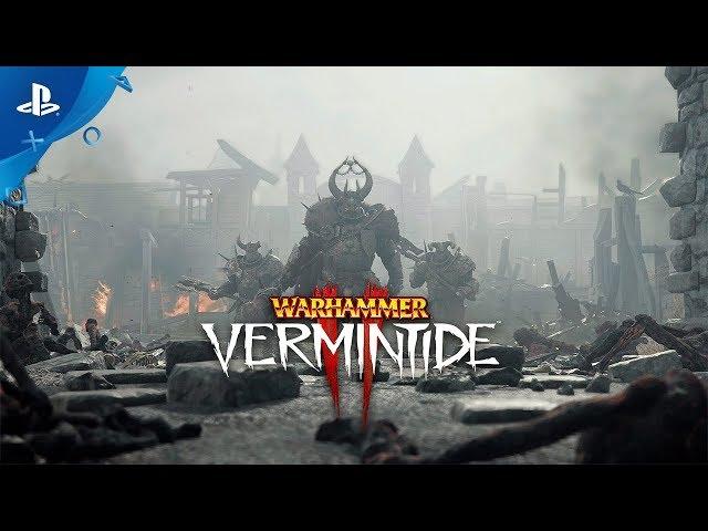 Warhammer: Vermintide 2 - Gameplay Trailer | PS4