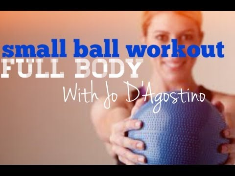 40 Minute | Small Ball Mat Workout = Body Burn!