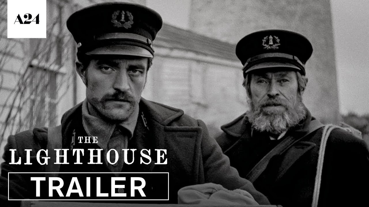 Robert Pattinson & Willem Dafoe in The Lighthouse trailer