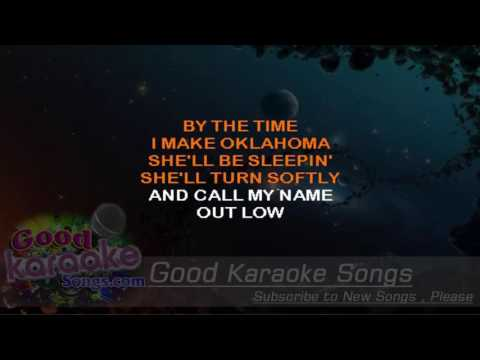 By the Time I Get to Phoenix -  Glen Campbell (Lyrics Karaoke) [ goodkaraokesongs.com ]