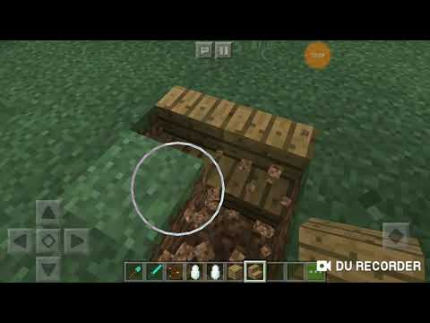 Minecraft парк юрского периода #3 строю вольєр для мозазавра
