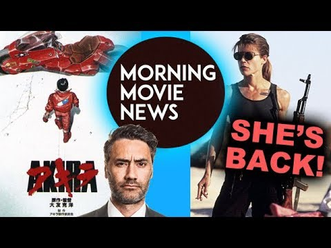 Akira Live Action with Taika Waititi, Linda Hamilton is back for Terminator 6